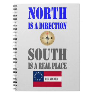 NORTH IS A DIRECTION SPIRAL NOTEBOOK