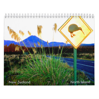North Island Calendar NZ