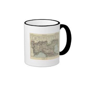 North Italy Ringer Coffee Mug