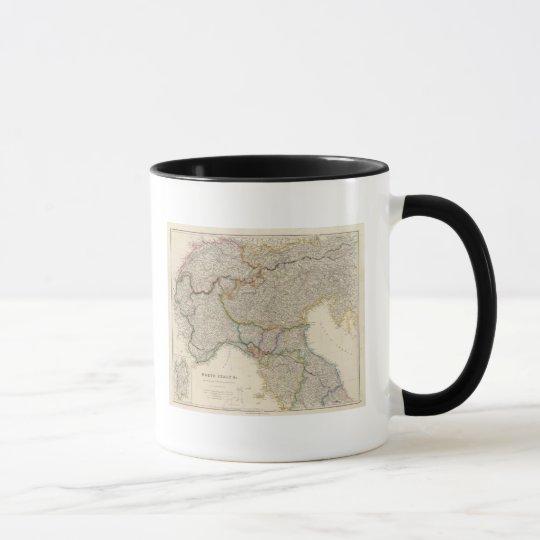 North Italy with Sardinia Mug