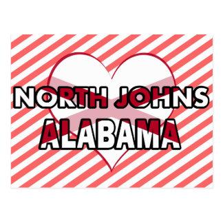 North Johns, Alabama Post Cards
