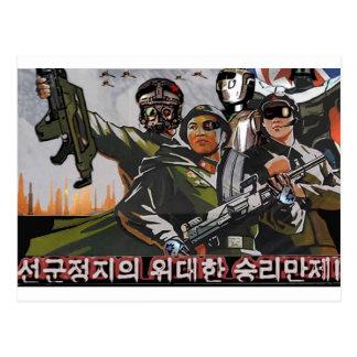 North Korea 2049 Postcards