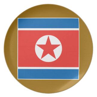 North Korea 2 Plates