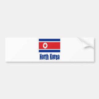 North Korea Bumper Sticker