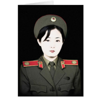 north korea card