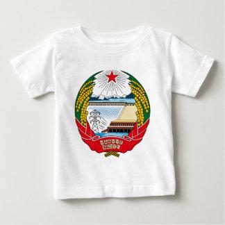 North Korea Coat of Arms detail Tshirts