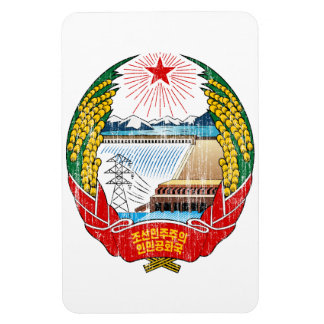 North Korea Coat Of Arms Magnet