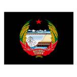 North Korea Coat of Arms Post Card