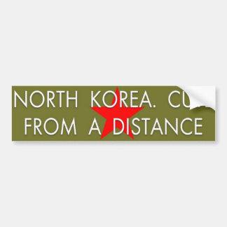 North Korea cute Bumper Sticker