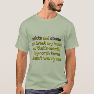 North Korea Doesn't Worry Me T-Shirt