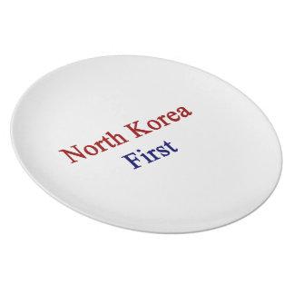 North Korea First Plates