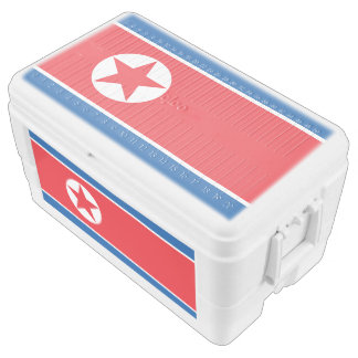 North Korea flag Chest Cooler