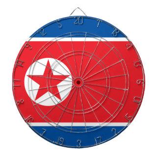 North Korea Flag Dart Board