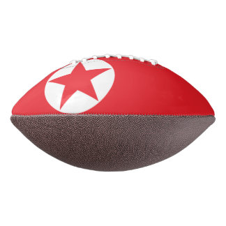 North Korea Flag Football