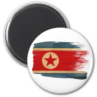 North Korea Flag Magnets