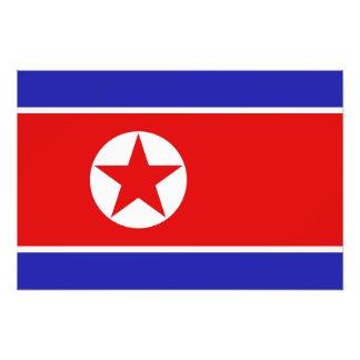 North Korea Flag Photo