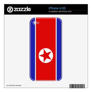 North Korea Flag Skins For The iPhone 4