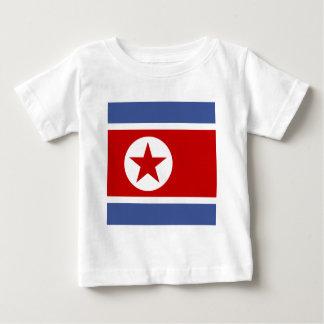 North Korea High quality Flag Tshirt