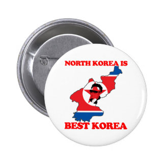 North Korea is Best Korea Button