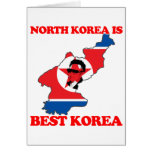 North Korea is Best Korea Greeting Card
