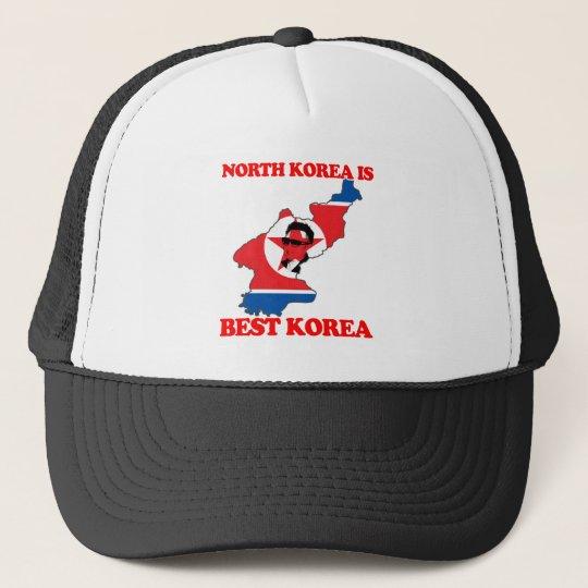 North Korea is Best Korea Trucker Hat