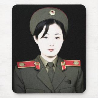 north korea mouse pad