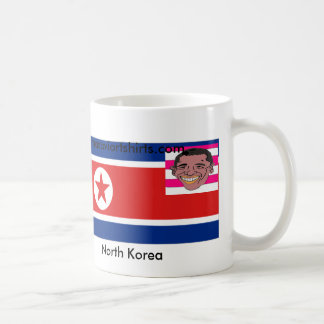 North Korea & Obama United Classic White Coffee Mug