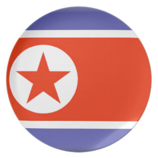 North Korea Party Plate