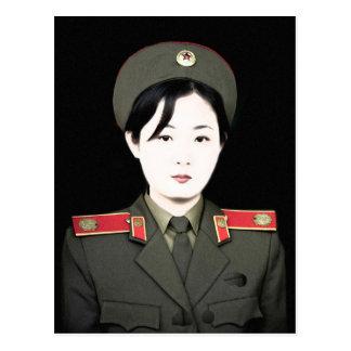 north korea postcard