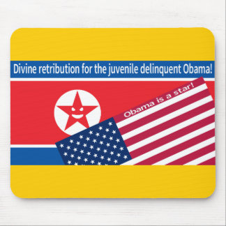 North Korea ranting Mouse Pad