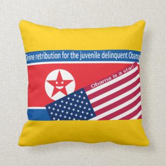 North Korea ranting Pillow