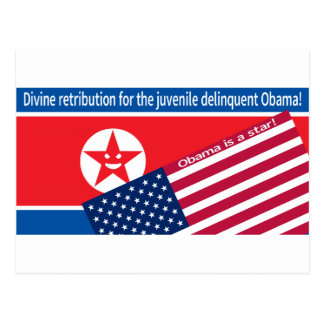 North Korea ranting Postcard