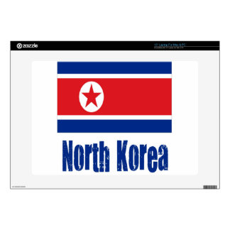 "North Korea 15"" Laptop Skins"