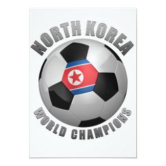 NORTH KOREA SOCCER CHAMPIONS CARD