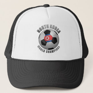 NORTH KOREA SOCCER CHAMPIONS TRUCKER HAT