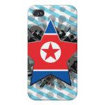 North Korea Star iPhone 4 Cases