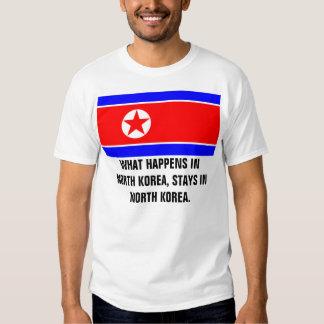 NORTH KOREA T-SHIRTS