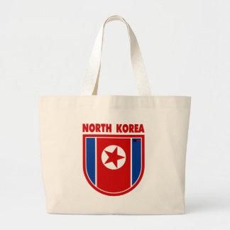 North Korea Tote Bags
