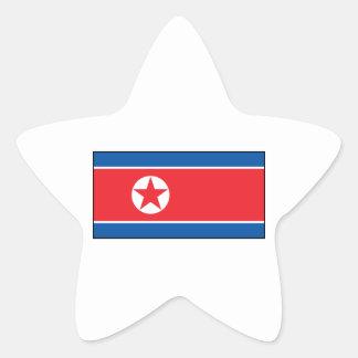 North Korean Flag Sticker