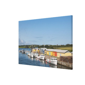 North Lake Harbour, Prince Edward Island. Canvas Print