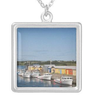 North Lake Harbour, Prince Edward Island. Square Pendant Necklace