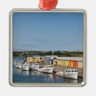 North Lake Harbour, Prince Edward Island. Square Metal Christmas Ornament