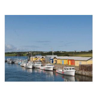 North Lake Harbour, Prince Edward Island. Postcard