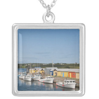 North Lake Harbour, Prince Edward Island. Silver Plated Necklace