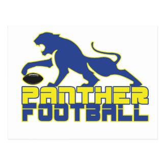 North Lamar Panther Football Paris Texas Postcard