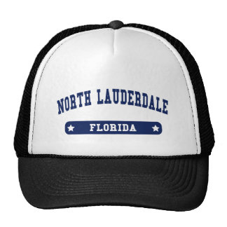 North Lauderdale Florida College Style tee shirts Trucker Hats