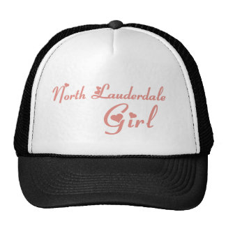 North Lauderdale Girl tee shirts Trucker Hats