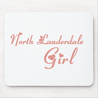 North Lauderdale Girl tee shirts Mouse Pad