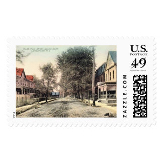 North Main St., Lambertville, New Jersey Vintage Postage