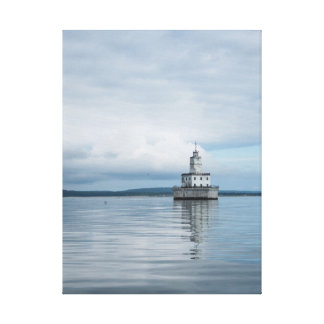 North Manitou Island Lighthouse Crib, Michigan Canvas Print